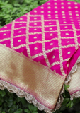 Banarasi Sarees & Dupattas Adorned With Designer Border