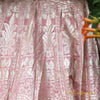 First Blush Pink Banarasi Lehenga Skirt Set