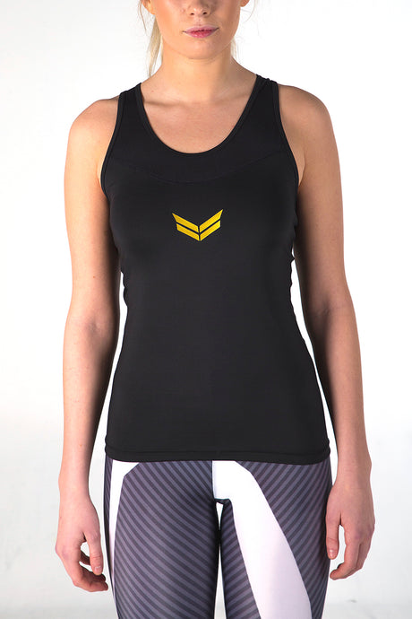 Vincere Elite Tank Top - Black