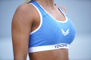 Vincere Signature - Blue Sports Bra