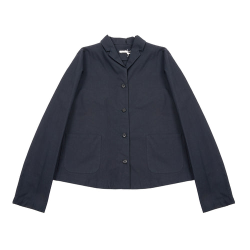Apuntob Shore Collared Jacket in Blue