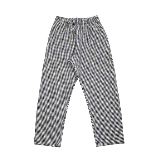 Apuntob Check Trousers in Butter/Blue
