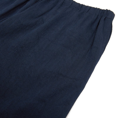 Apuntob Linen/Cotton Trousers in Blue