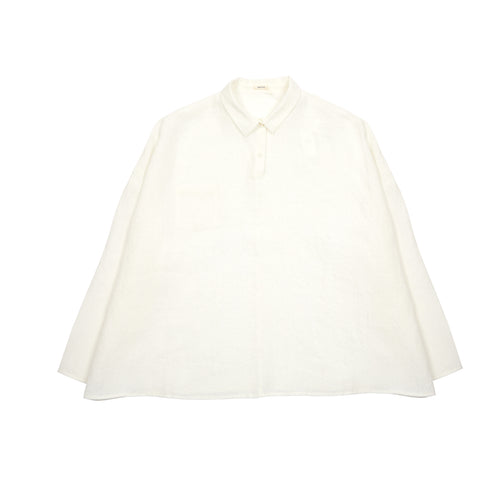 Apuntob Linen Shirt in Milk