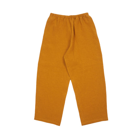 Apuntob Linen Trousers in Pumpkin
