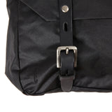 Ally Capellino Jeremy Small Waxed Cotton Satchel in Black