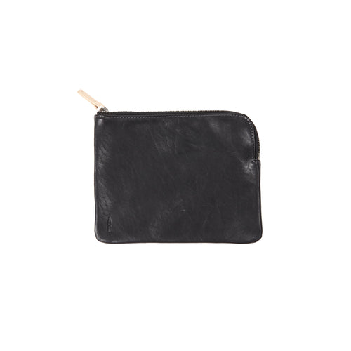 Ally Capellino Jan Calvert Leather Purse in Black