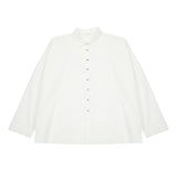Album Di Famiglia Women's Short Collar Shirt in Milk