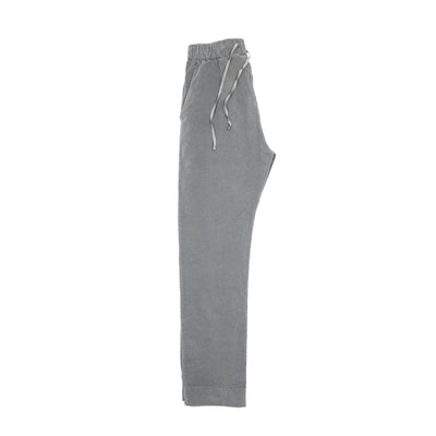 Album Di Famiglia Velvet New Basic Trousers in Grey
