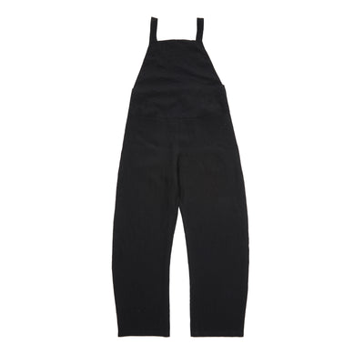 Apuntob Linen Overall in Black