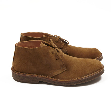 Astorflex Greenflex Suede Desert Boots in Whiskey