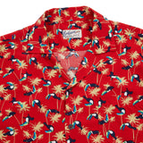 Bevilacqua Short Sleeve Shirt with Toucan Print