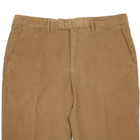 Barena Lio Sarza Cotton Corduroy Trousers in Mud