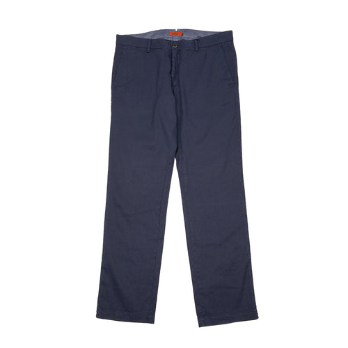 Barena Rionero Cotton Trousers in Navy