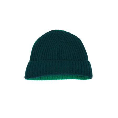 Begg & Co Alex Bi-Colour Beanie Black Watch