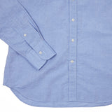 Bevilacqua Cotton Linen Shirt in Blue