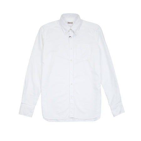Bevilacqua Sam Oxford Shirt Grey