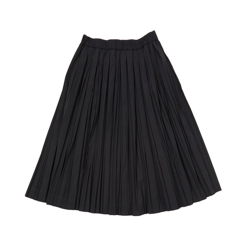 Casey Casey Plee Skirt in Black