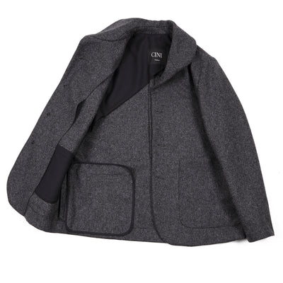 Cini Venezia Malaga Piave Jacket in Grey