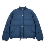 Crescent Down Works 60/40 Down Sweater in Navy/Navy