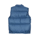 Crescent Down Works Ripstop Italian Vest in Navy/Navy