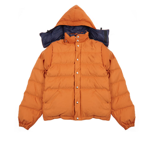Crescent Down Works Light Jacket in Rust/Navy