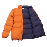Crescent Down Works Classico Parka in Rust/Navy