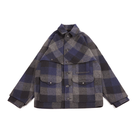 Filson Double Wool Mackinaw Cruiser Jacket in Buffalo Plaid
