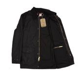 Filson Cover Cloth Mile Marker Jacket in Black