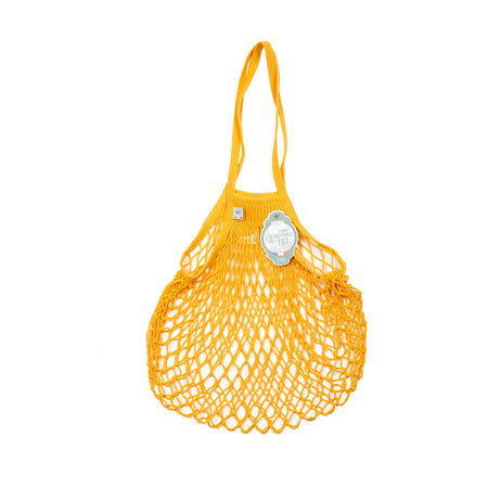 Filt Knitted Cotton Bag in Yellow
