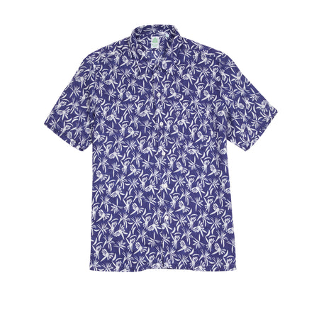 Finamore Bart Short Sleeve Shirt in Dragonfly Print