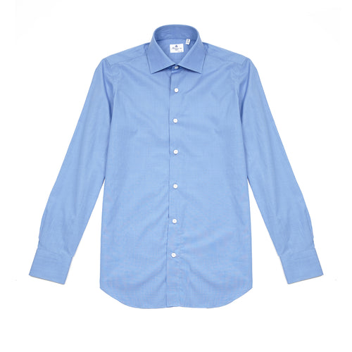 Finamore 170 Shirt in Blue