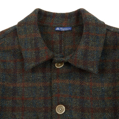 Finamore Lupo Tweed Shirt Jacket