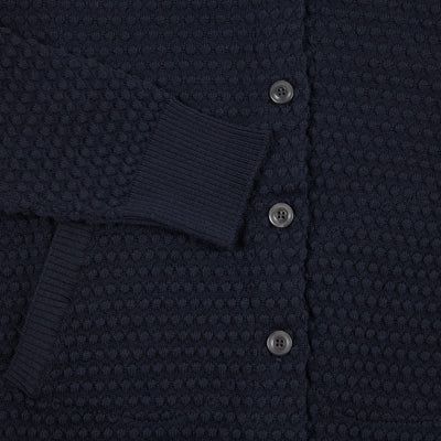 GRP Women's Cardigan Merino in Navy