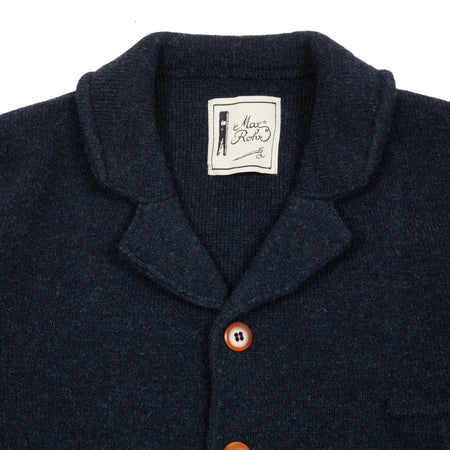 GRP Max Rohr Knitted Jacket in Navy