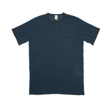 GRP Neo Henley Cotton T-shirt in Ombra Petrol