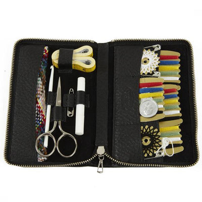 F Hammann Leather Sewing Kit in Black
