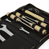 F. Hammann Leather Tool Kit in Black
