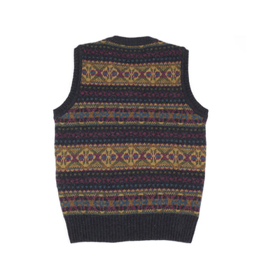 Harley Supersoft Shetland Fair Isle Slipover in Galaxy