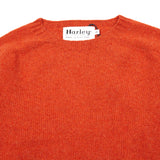 Harley Geelong Lambswool Jumper in Furnace