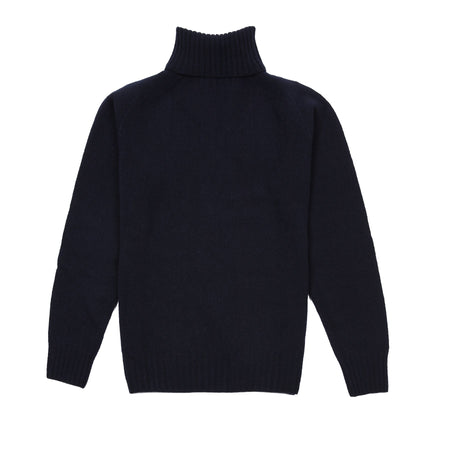 Harley Women's Roll Neck Geelong Jumper in Nero Navy