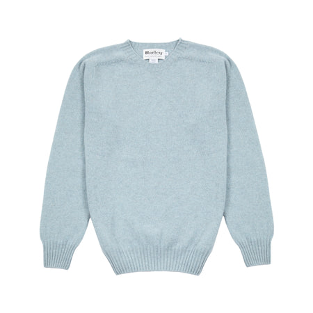 Harley Geelong Lambswool Jumper in Haar