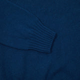 Harley Geelong Lambswool Jumper in Naval Jack