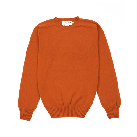 Harley Geelong Lambswool Jumper in Sienna