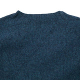 Harley Supersoft Shetland Jumper in Storm