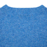 Harley Supersoft Shetland Jumper in Fresh Surf