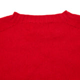 Harley Women's Crew Neck Geelong Jumper in Ruby