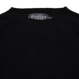 Harley Women's Crew-Neck Cashmere Jumper in Black