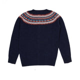 Harley Women's Geelong Lambswool Cardigan in Cosmos