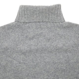 Harley Women's Roll Neck Geelong Lambswool Jumper in Flannel Grey